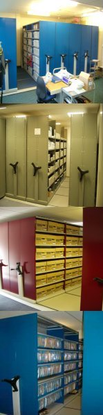 Mobile Shelving Systems installed by Shelf Space Limited