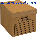 Archive Box Storage